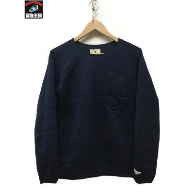 Snow Peak Flexible Insulated Pullover Navy XS【中古】