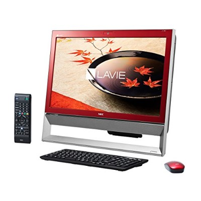 NEC LAVIE Desk All-in-one DA370/CAR PC-DA370CARレッド