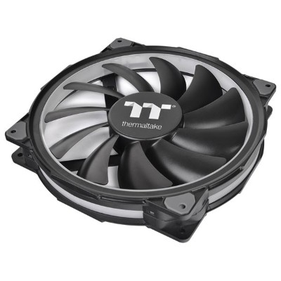 CL-F069-PL20SW-A Thermaltake PCケースファン Riing Plus 20 RGB Radiator Fan TT Premium Edition With...