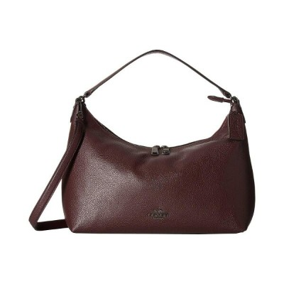 コーチ COACH レディース バッグ【Pebbled Leather East/West Celeste Convertible Hobo】Warm Oxblood
