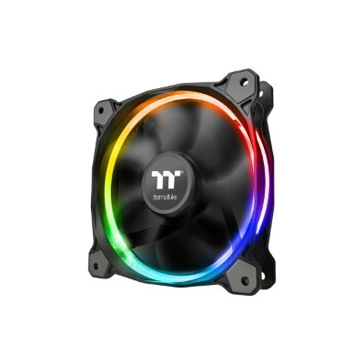 Thermaltake CL-F071-PL12SW-A Riing 12 LED Radiator Fan 256 Sync Edition 3Pack マザーボードのイルミネーションと同期可能...