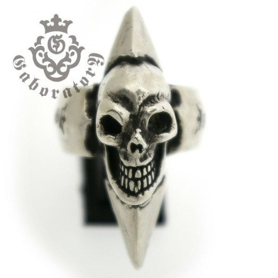 Gaboratory(ガボラトリー) Skull with spike ring スカルw/スパイクリング 152-A l ガボラトリー ガボール 正規品 送料無料 誕生日 プレゼント ギフト...