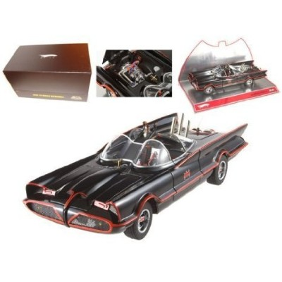 1966 Batmobile from the 1960's TV シリーズ Super Elite Highly Detailed 1:18 スケール Collectible
