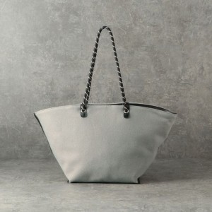 SALE【ル ジュール(LE JOUR)】 ★★【CACHELLIE】ROPE HANDLE TOTE グレー系