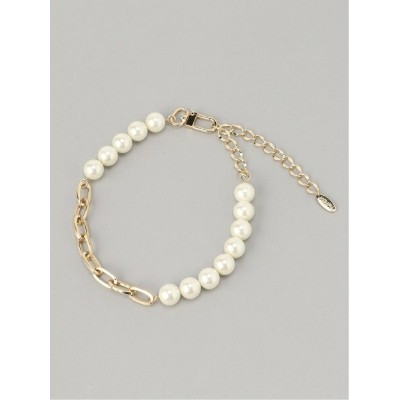 【SALE/30%OFF】X-girl PEARL CHAIN NECKLACE エックスガール アクセサリー ネックレス ゴールド シルバー
