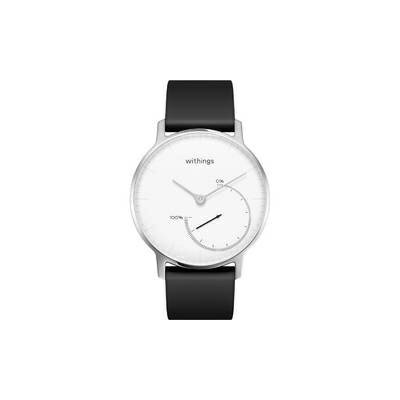 Withings ウィジングズ スマートウォッチ Steel Black & White HWA01-Steel-White-All-JP HWA01-STEEL