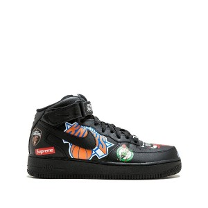 Supreme Air Force 1 Mid '07 / Nike x Supreme sneakers - ブラック