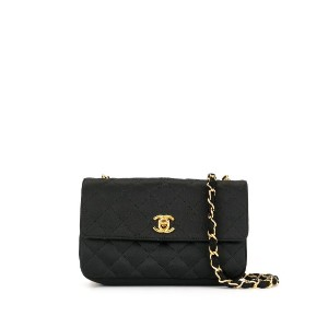 Chanel Pre-Owned ツイストロック チェーンバッグ - ブラック