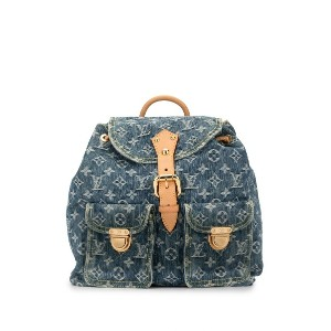 Louis Vuitton Pre-Owned サック ア ドス GM バックパック - ブルー