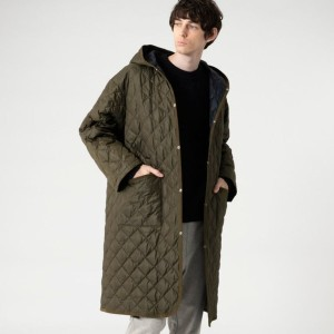 【マッキントッシュ フィロソフィー メン(MACKINTOSH PHILOSOPHY MEN)】 WARENFORD LONG HOOD WARENFORD LONG HOOD グリーン