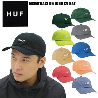 ハフ(HUF) ESSENTIALS OG LOGO CV HAT キャップ/ 帽子【31】[BB]