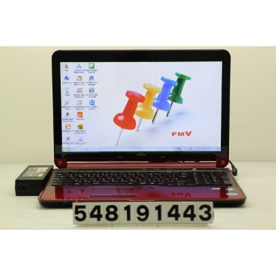 富士通 LIFEBOOK AH77/H Core i7 3610QM 2.3GHz/8GB/1TB/Blu-ray/15.6W/FWXGA(1366x768)/Win7【中古】【20190828】