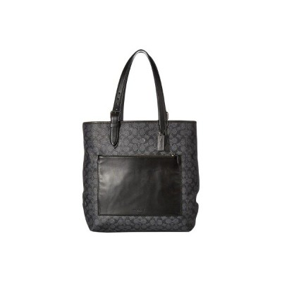 コーチ COACH メンズ バッグ トートバッグ【Metropolitan Soft Tote in Signature】Grey