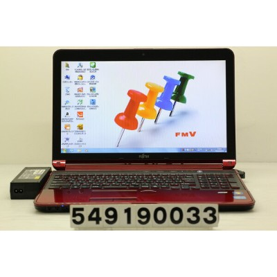富士通 LIFEBOOK AH77/H Core i7 3610QM 2.3GHz/8GB/1TB/Blu-ray/15.6W/FWXGA(1366x768)/Win7【中古】【20190905】