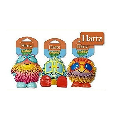 Hartz Frisky Frolic Latex Squeakable Dog Toy - Set of Three (same as picture) by HARTZ