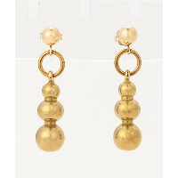 ANOTHER FEATHER/アナザー フェザー  ピアス PEARL DROP EARRINGS B BRONZE【三越・伊勢丹/公式】 アクセサリー~~ピアス~~レディース ピアス