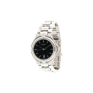 Gucci Pre-Owned 9040M ミッドサイズ腕時計 - シルバー
