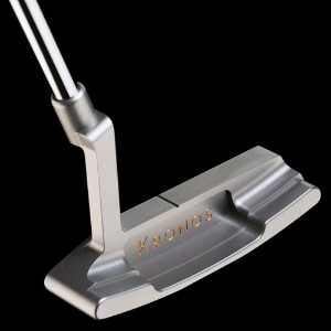 Kronos Golf Touch Raw Stainless Steel Top Line Putter【ゴルフ ゴルフクラブ>パター】