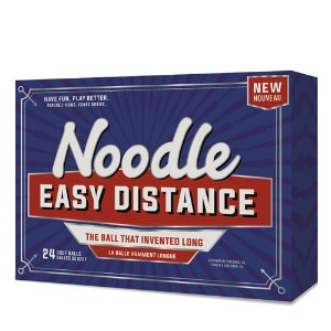 TaylorMade Noodle Easy Distance Golf Balls (24 ball pack)【ゴルフ ボール】