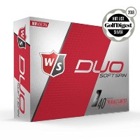 Wilson Staff DUO SOFT Spin Golf Ball【ゴルフ ボール】