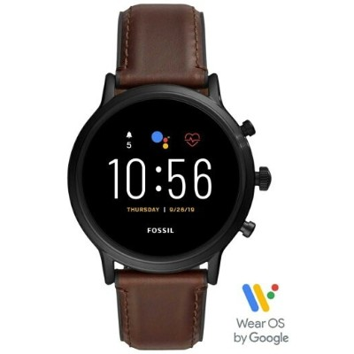 【SALE/30%OFF】FOSSIL SMARTWATCH THE CARLYLE HR SMARTWATCH フォッシル ファッショングッズ 腕時計 ブラウン【送料無料】