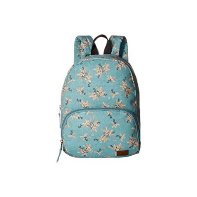 ROXY コア 【 ALWAYS CORE CANVAS BACKPACK AQUIFER FLOWERS EVERYDAY SWIM 】 バッグ 送料無料