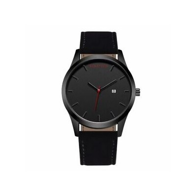 【送料無料】腕時計 スポーツウォッチカレンダー2018 sport watch men leather calendar quartz wrist wristwatch military cl