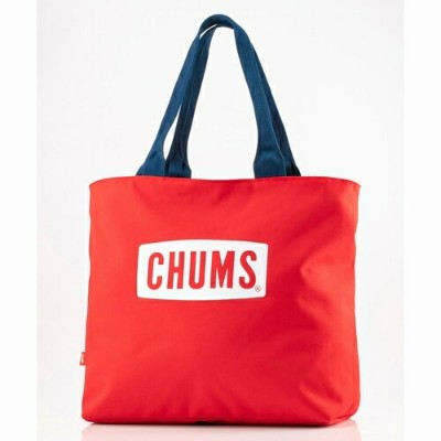 EcoCHUMSLogoToteBag CHUMS(チャムス)(エコチャムスロゴトートバッグ)-Red