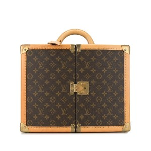 Louis Vuitton Pre-Owned Special Order Monogram Amfar II トランクケース - ブラウン