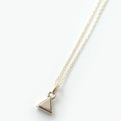 mollive NEW TRIANGLE NECKLACE K10