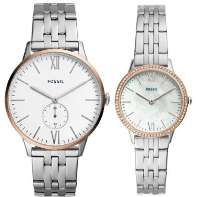FOSSIL FOSSIL/(W-M)THE ANDY AND ADDISON SET_FS5562SET フォッシル ファッショングッズ 腕時計 ホワイト【送料無料】