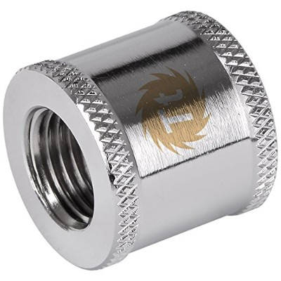 Pacific G1/4 Female to Female 20mm extender - Chrome/DIY LCS/Fitting CL-W049-CU00SL-A HS1099