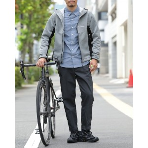 mellow people(メローピープル) Bicycle Research パーカー【TOKYO WHEELS別注】