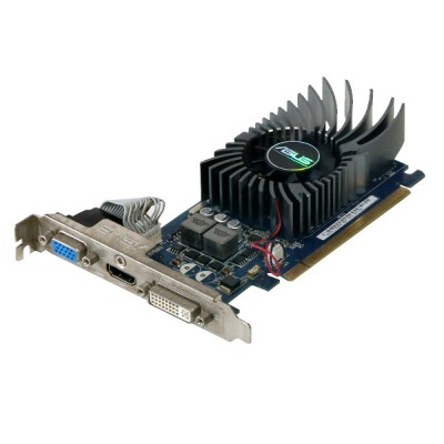 ASUSTeK Computer GeForce GT 430 1GB VGA/HDMI/DVI PCI Express 2.0 x16 ENGT430/DI/1GD3(LP)【中古】...