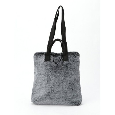Cachellie 3WAY FUR TOTE カシェリエ バッグ トートバッグ ブラック【送料無料】