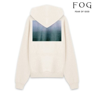 FOG ESSENTIALS エフオージー エッセンシャルズ FEAR OF GOD ESSENTIALS PHOTO PULLOVER HOODIE - BUTTER CREAM プルオーバー...