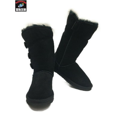 UGG ベイリーボタントリプレット Size6 アグ BAILEY BUTTON TRIPLET ムートンブーツ 【中古】[▼]