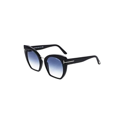 トムフォード サングラス TOM FORD FT0553 Tom Ford Sunglasses FT 0553 Samantha- 02 01W shiny black/gradient blue