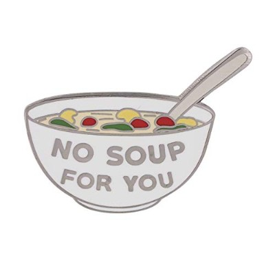 WIZARDPINS No Soup for You引用句 シトコム TV番組 エナメルピン