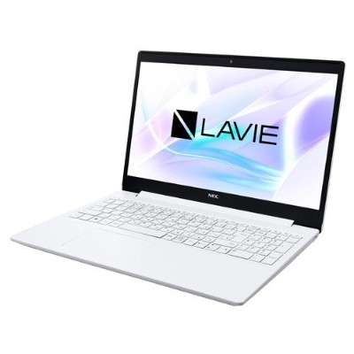 15.6インチ LAVIE Note Standard NS100/N2W Windows10/Celeron 4205U/メモリ4GB/HDD500GB カームホワイト NEC PC-NS100N2