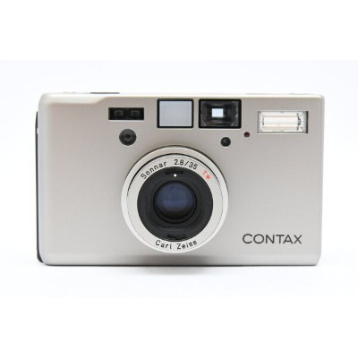 CONTAX コンタックス T3 SILVER 前期 Carl Zeiss Sonnar 35mm F2.8 T* 【中古】