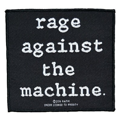 RAGE AGAINST THE MACHINE レイジアゲインストザマシーン Logo Patch ワッペン