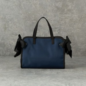 SALE【ル ジュール(LE JOUR)】 【CACHELLIE】RIBBON TOTE(2WAY TOTE/S) ネイビー