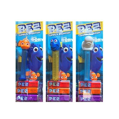 Dory Pez Candy&Dispenser Pack Of 3を見つける Finding Dory Pez Candy & Dispenser Pack Of 3