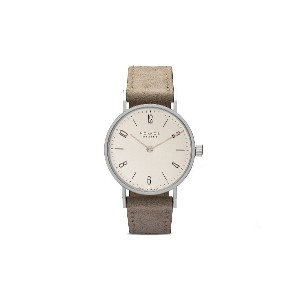 Nomos タンジェント Duo 33mm - White, Silver-Plated