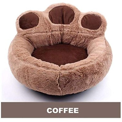 3 Colors Pet Dog Cat Warm Bed Winter Dog Bed Soft Material Pet Nest Cute Paw Kennel For Cat Puppy...