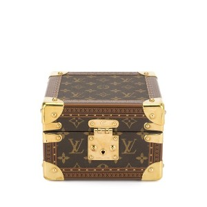 Louis Vuitton Pre-Owned ロゴ ウォッチケース - ブラウン