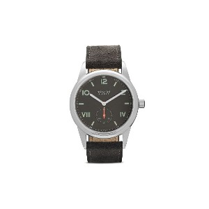 Nomos クラブ キャンパス ナイト 38mm - Ruthenium-Plated