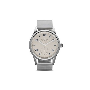 NOMOS Glashütte クラブ キャンパス ネオマティック 39mm - White, silver-plated