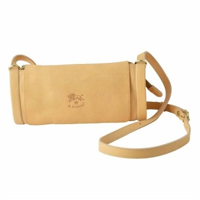 IL BISONTE(イルビゾンテ) A1464 120 Natural ショルダーバッグ ポシェット CROSSBODY【代引不可】